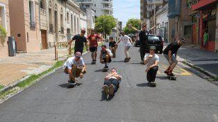 La pandilla de Sabor a Calle en la producción para la tapa de UNO.