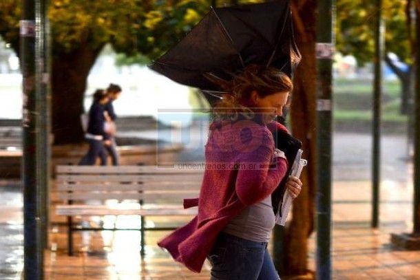 Se pronostican tormentas fuertes y brusco descenso de temperatura