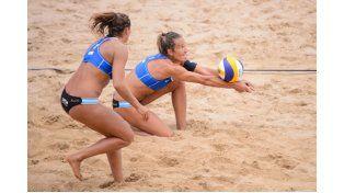 La entrerriana Ana Gallay junto a Georgina Klug en el Grand Slam de Olsztyn