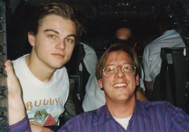 Dana Giacchetto con Leonardo Di Caprio