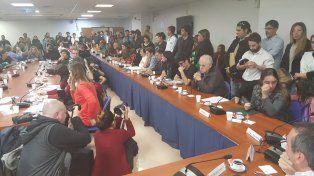 La primera reunión tuvo una gran participación de activistas y especialistas. Foto Twitter @CaroGaillard.