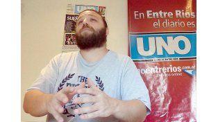 Gastón Mattiauda: Sería mejor aún si se lograra una mayor fraternidad entre todas las bandas. Foto UNO.