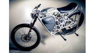 Esta moto eléctrica impresa en 3D es toda una obra de arte