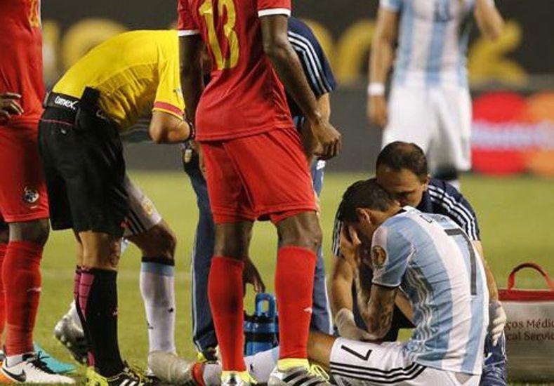 Di María se perdería lo que resta de la Copa América