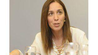 Vidal prometió responder con firmeza a los que quieren violencia en la Provincia