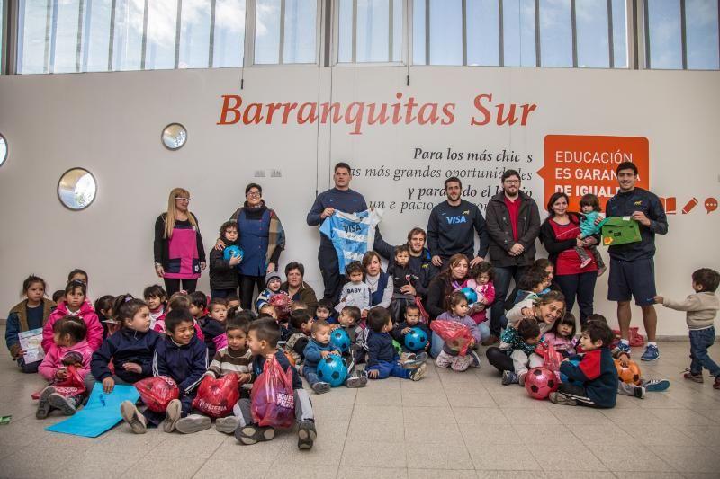 Los Pumas recorrieron el Jardín Municipal de Barranquitas Sur
