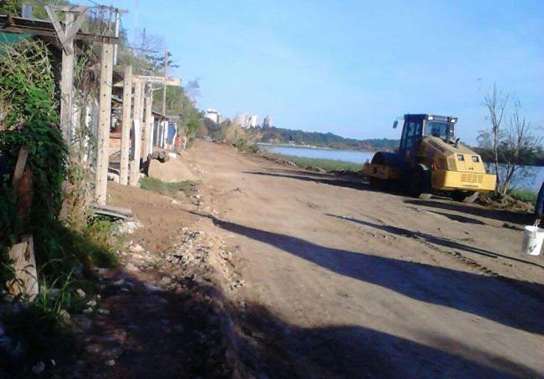 Borde costero. El propósito es habilitar una nueva área de uso público.