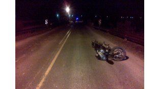 El accidente ocurrió en el kilómetro 18 de la ruta provincial 11