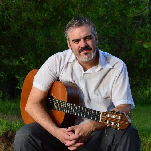 Referente. Frezetti pertenece a la nueva camada que aporta a la tradición guitarrística entrerriana.