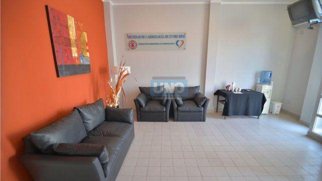 Sede de laSociedad de Cardiología de Entre Ríos.Foto UNO/Juan Manuel Hernández