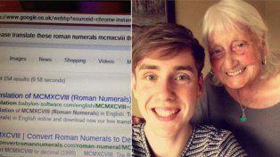 Está búsqueda en Google de una abuela se convirtió en viral