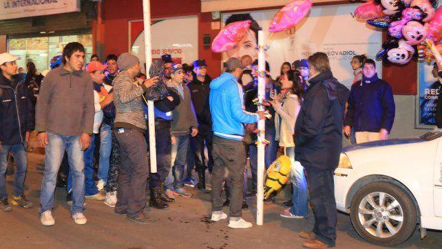 Nuevos incidentes entre inspectores municipales y vendedores ambulantes
