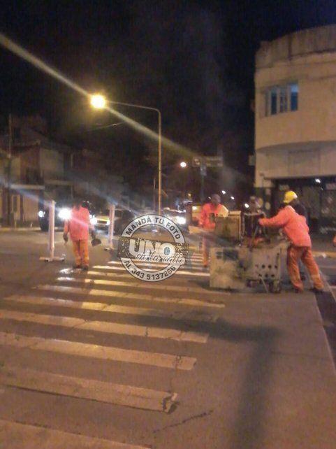 Calle Gualeguaychú fue un infierno