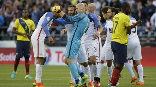 Estados Unidos está entre los cuatro mejores de laCopa América Centenario. Foto: AP