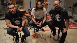 Sonido. En Conexión suena la evolución de la banda. Foto: Agostina Reula