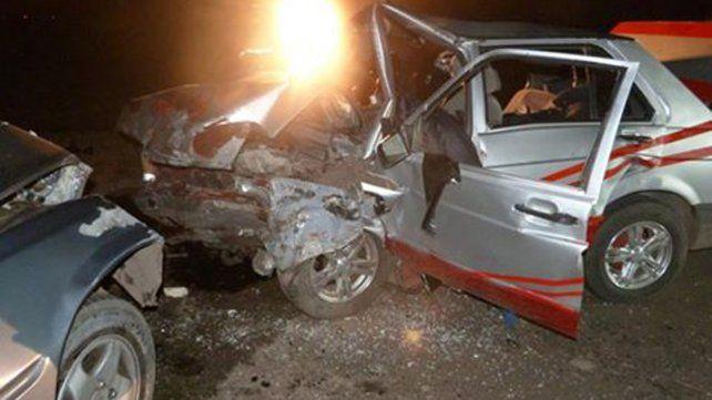 Un policía murió en un choque frontal en la ruta nacional 130