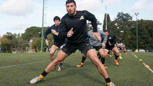 El paranaense Ortega Desio vuelve a ser titular en Los Pumas