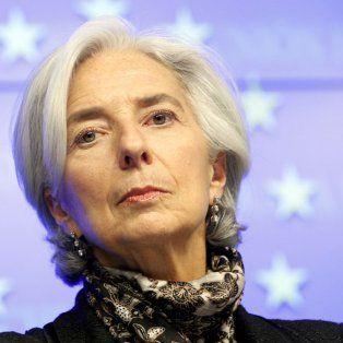 Christine Lagarde, titular del FMI.