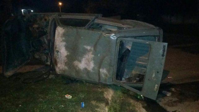 La conductora del vehículo fue trasladada al San Martín