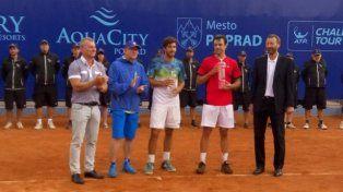 El argentino Zeballos campeón en Eslovaquia