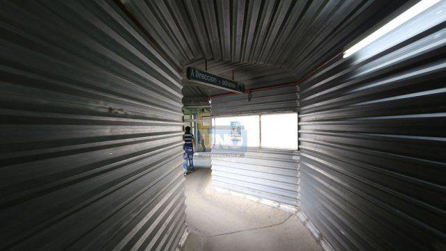 El Túnel de metal será una de las cosas que se quitarán. (Foto: Archivo UNO/Ilustrativa)