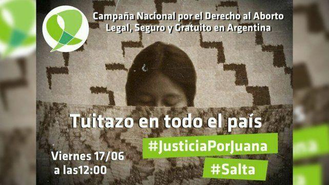 Fue tendencia el pedido de justicia por la niña wichí abusada en Salta