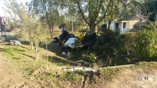 Dos jóvenes murieron en un accidente de tránsito en Gualeguaychú. Foto: PER