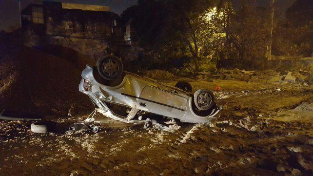 El accidente ocurrió el domingo en Paraná