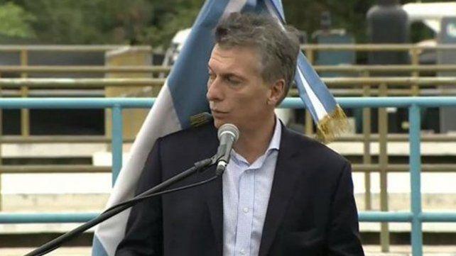 Mauricio Macri llamó a derrotar el narcotráfico y prometió que la inflación va a bajar