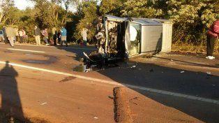 Un intendente manejaba borracho, chocó y mató a otro conductor en Misiones