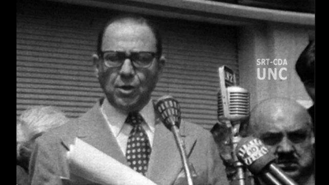 Murió el ex gobernador de Córdoba Ricardo Obregón Cano