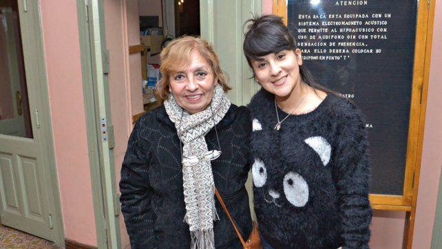 Lizy Tagliani brindó su espectáculo en la ciudad