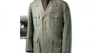 El uniforme de Adolf Hitler.