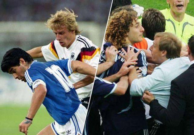 Argentina vestirá otra vez de azul y siempre festejó Klinsmann