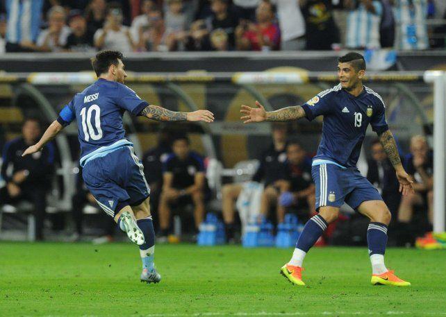 Messi, en su noche récord, fue la gran figura argentina ante Estados Unidos