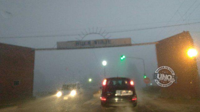 Recomiendan circular con precaución por la intensa niebla
