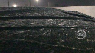 Los autos que quedaron a la intemperie sufrieron los efectos de la helada
