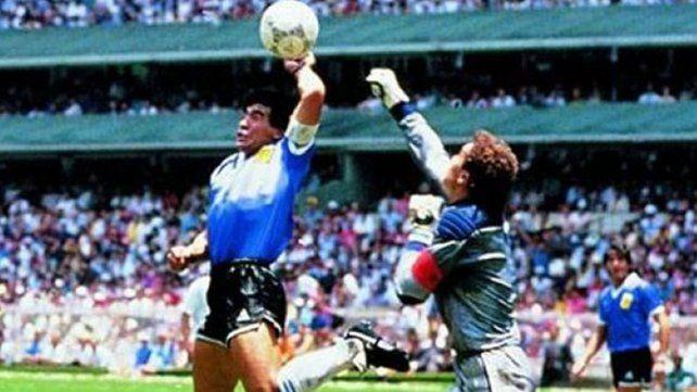 Se cumplen 30 años de la genialidad maradoniana contra los ingleses en el Mundial 86