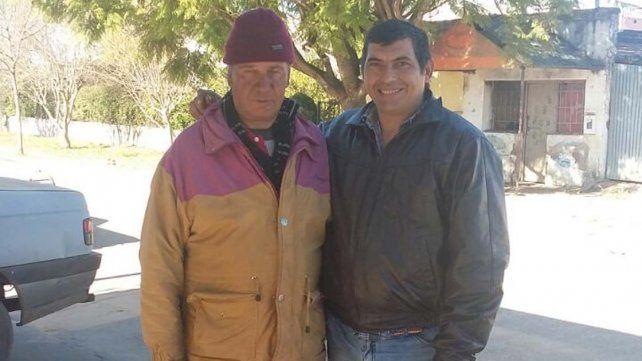 Nueva vida. Domingo hoy tiene un trabajo y un hogar que Nelson ofreció en un gesto solidario.