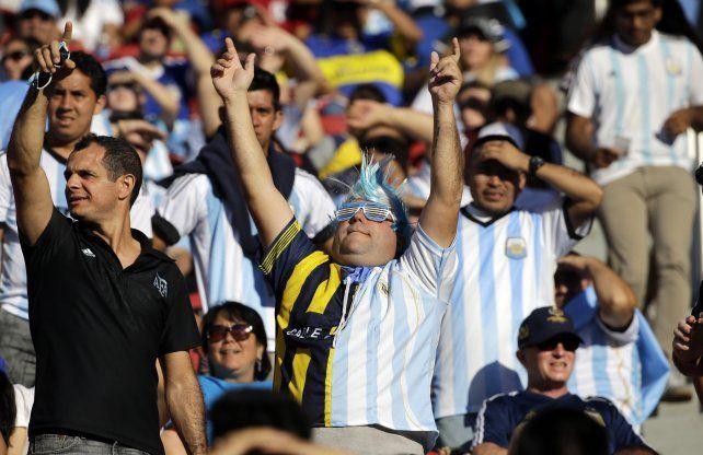 ¡Pagó 8.592 pesos para ver a la Selección y ni siquiera es argentino!