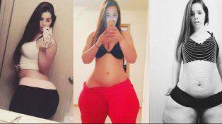 La modelo de la cola más grande del mundo quiere vencer a Kim Kardashian