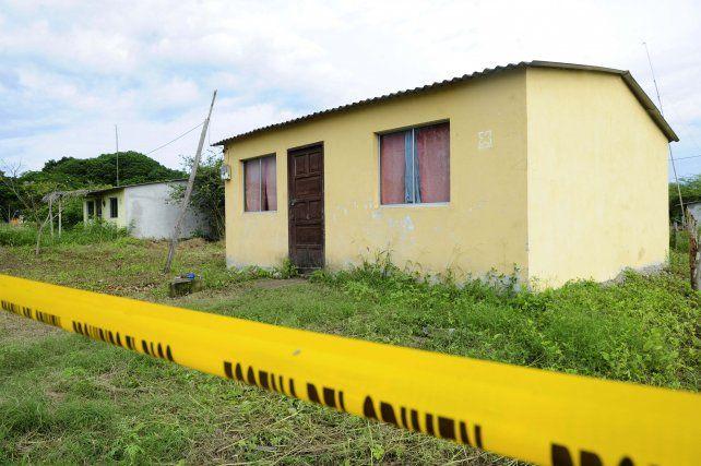La casa donde habrían asesinado a las turistas mendocinas