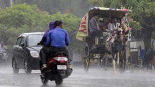 Al menos 144 muertos y 56 heridos en la India por tormentas y caídas de rayos