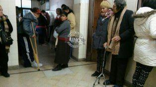 Los pacientes tuvieron largas horas de espera