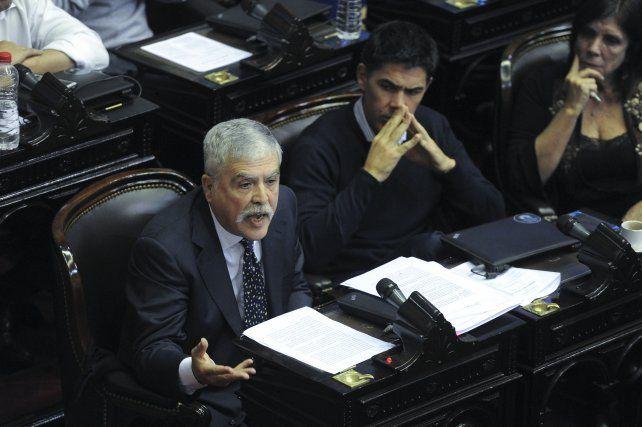 Julio De Vido en Diputados.