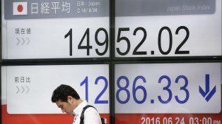 Los mercados se desploman luego de la decisión del Reino Unido de dejar la Unión Europea