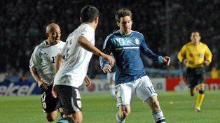 El rosarino cumplió 24 años durante la Copa América que se jugó en Argentina en el 2011 (NA)