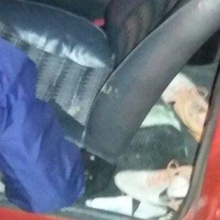 El automóvil estaba estacionado en cercanías del Patito Sirirí