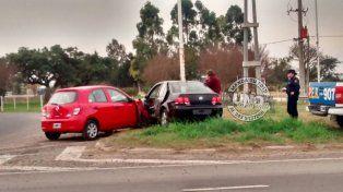 Accidente con heridos leves en Acceso Norte