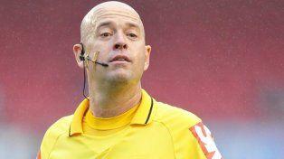 El árbitro de la final de la Copa América Centenario
